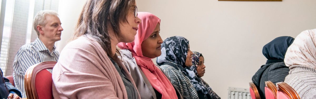Researchers and Somali women
