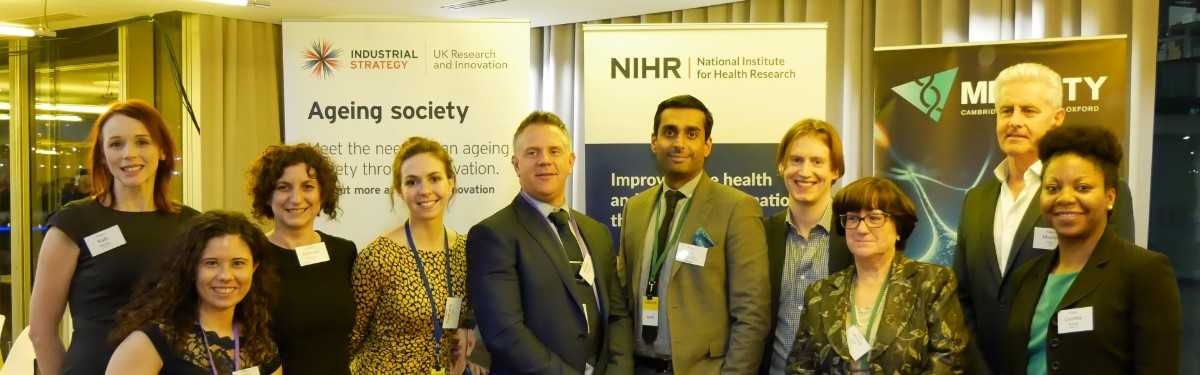 NIHR i4i and Innovate UK's first Angels in Medcity Entrepreneur Pitching Event