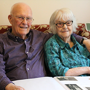 Barry and Enid: Living well with dementia
